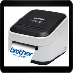 brother VC-500W Etiketten