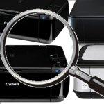 Canon Druckerzubehörsuche