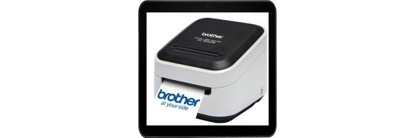 brother VC-500W Etiketten