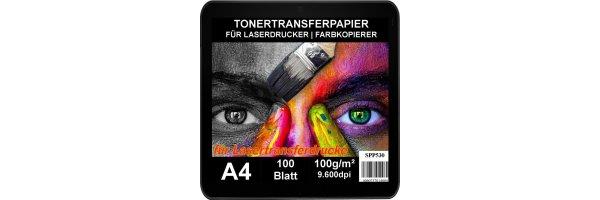 Tranferpapier für Laserdrucker & Kopierer