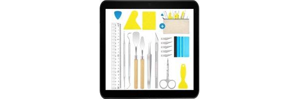 Werkzeug + Arbeitsmaterial