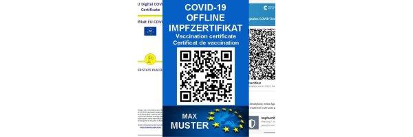 Covid Offline Zertifikat