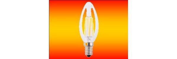 LED Birnen + Kerzen E14