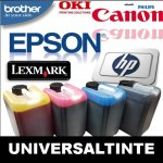 Universal Druckertinte für  Brother Canon,...