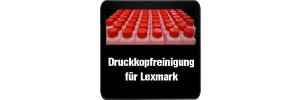 Lexmark Druckkopfreinigung