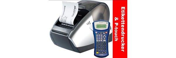 Etikettendrucker & P-touchzubehör