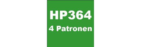 HP364 - 4 Patronen