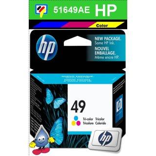 END OF LIVE - HP49 - Original 51649AE-color-Druckpatrone mit 22,8ml zum Superangebot