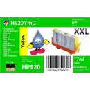 HP920YXL - TiDis XL Ersatzpatrone - yellow - mit 17ml...