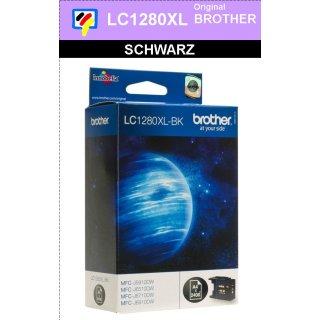 LC1280XLBK Brother XL Druckerpatrone black mit 2.400 Seiten Druckleistung nach ISO
