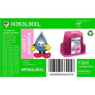 HP363LM - TiDis Ersatzpatrone für C8775EE - lightmagenta -  mit 13ml Inhalt/ersetzen HP363 Druckerpatronen