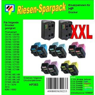 HP363MP - TiDis Riesensparpack mit 12 Ersatzpatronen Inhalt/ersetzen HP363 Druckerpatronen