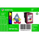 HP351XL - TiDis Ersatzpatrone für CB338EE - color -...