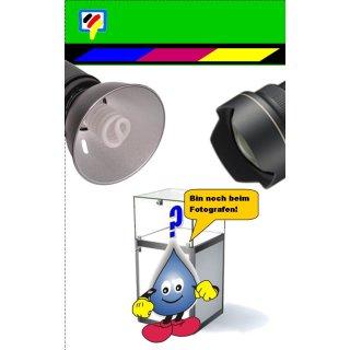 HP348 - TiDis Ersatzpatrone für C9369EE - color -  mit 12ml Inhalt