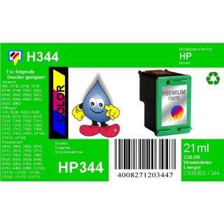 HP344 - TiDis Ersatzpatrone für C9363EE - color -  mit 21ml Inhalt