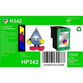 HP342 - TiDis Ersatzpatrone für C9361EE - color -  mit 9ml Inhalt