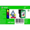 HP343 - TiDis Ersatzpatrone für C8766EE - color -...