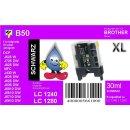 LC-1280XLBK TiDis XL Ersatzdruckerpatrone Black mit 2.400...