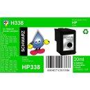HP338 - TiDis Ersatzpatrone für C8765EE - schwarz -...