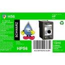 HP56 - TiDis Ersatzpatrone für C6656AE - schwarz -...