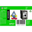 HP27 - TiDis Ersatzpatrone für C8727AE - schwarz -...