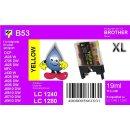 LC-1280XLY TiDis Ersatzdruckerpatrone Yellow...