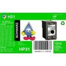 HP21 - TiDis Recyclingpatrone für C9351CE - schwarz...