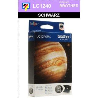 LC1240BK Brother Druckerpatrone Black mit 600 Seiten Druckleistung nach ISO für Brother DCP-J525W, DCP-J725DW, DCP-J925DW, MFC-J430W, MFC-J625EW, MFC-J825DW, MFC-J6510DW, MFC-J6710DW, MFC-J6910DW