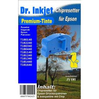 JY181 - T18 Chipresetter für Epson Druckerpatronen mit der Nummer 18 & 18XL (Motiv: Gänseblume)