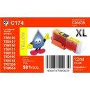 CLI-581Y XXL TiDis Ersatzpatrone yellow mit ca. 12ml...