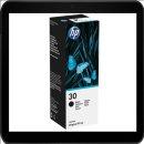 HP30 135ml schwarze Original HP Nachfülltinte
