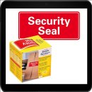78 x 38 - 100 AVERY Zweckform Sicherheitssiegel 7310 rot