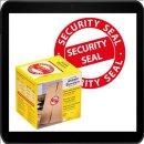 38 x 38 - 125 AVERY Zweckform Sicherheitssiegel 7312 rot