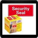 38 x 20 - 200 AVERY Zweckform Sicherheitssiegel 7311 rot
