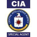 CIA Ausweis mit Bild und beidseitig bedruckt -...