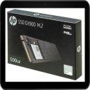HP SSD EX900 FESTPLATTE INTERN 500GB 2YY44AA#ABB M.2...