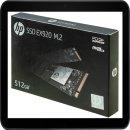 HP SSD EX920 FESTPLATTE INTERN 512GB 2YY46AA#ABB M.2...