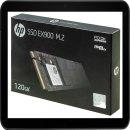 HP SSD EX900 FESTPLATTE INTERN 120GB 2YY42AA#ABB M.2...