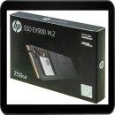 HP SSD EX900 FESTPLATTE INTERN 250GB 2YY43AA#ABB M.2...