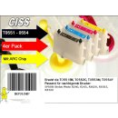 IRP311MP - CISS / Easyrefill T0551-T0554 Multipack mit 4 Patronen
