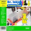 HR85 - Dr. Inkjet Komplett 250ml Set Premium Pigmentierte...