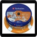 VERBATIM DVD-R 4.7GB 16X (25) SP 43538 SPINDEL...