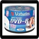 VERBATIM DVD-R 4.7GB 16X (50) SP 43533 BREIT FOTO...
