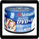 VERBATIM DVD+R 4.7GB 16X (50) SP 43512 BREIT FOTO...