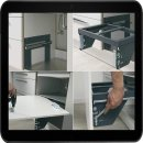 Einbau - Abfallsammler SortoMaxx 3D mit 2 x 17 Liter...