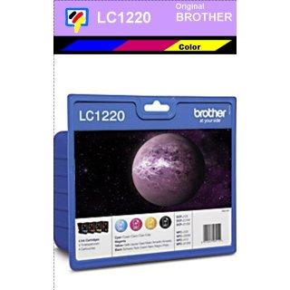LC1220VALBPDR Brother Multipack mit 4 Patronen a 300 Seiten Druckleistung - je 1x black, cyan, magenta, yellow