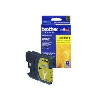 LC-1100HYY Brother Original Druckerpatrone yellow mit 750 Seiten Druckleistung nach ISO/24711 für Brother DCP6690CW, MFC5890CN, MFC6490CW, MFC6890CDW