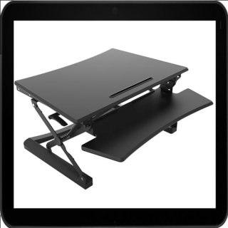 Bakker Elkhuizen Sitz Steh Schreibtischaufsatz Verstellbereich 150