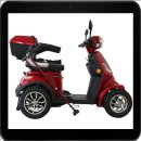 Rolektro, E-Quad 25, Farbe Rot, 1000 Watt / 60V 20 AH bis...