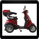 Rolektro, E-Quad 15, Farbe Rot, 1000 Watt / 60V 20AH bis...